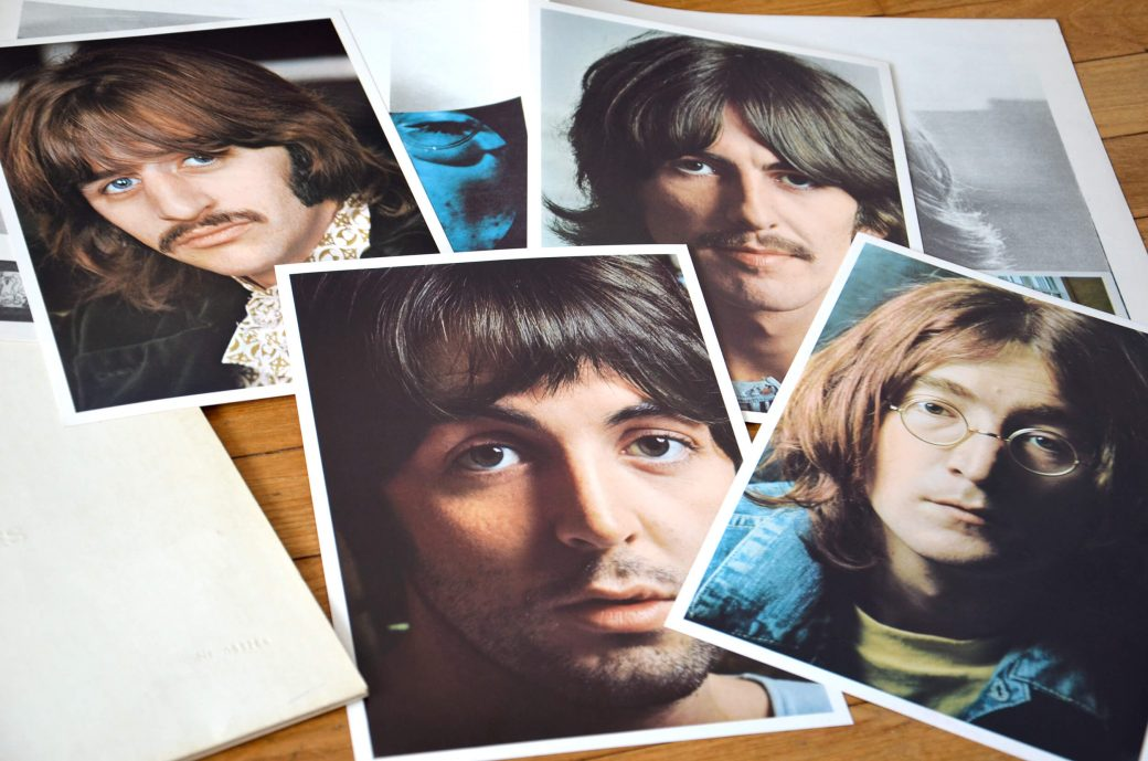 Le double blanc des Beatles complet