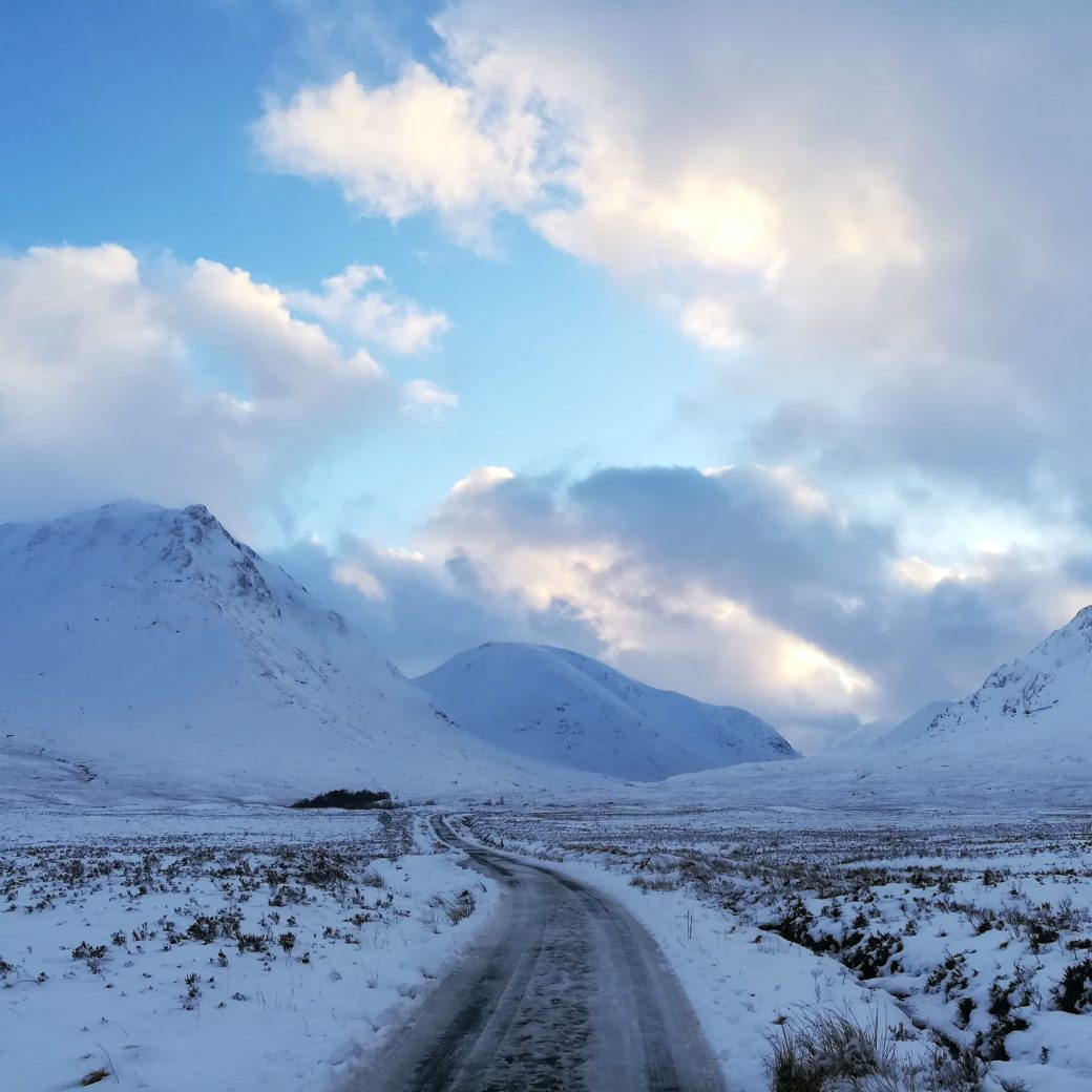 Glencoe, route vers le Loch Etive