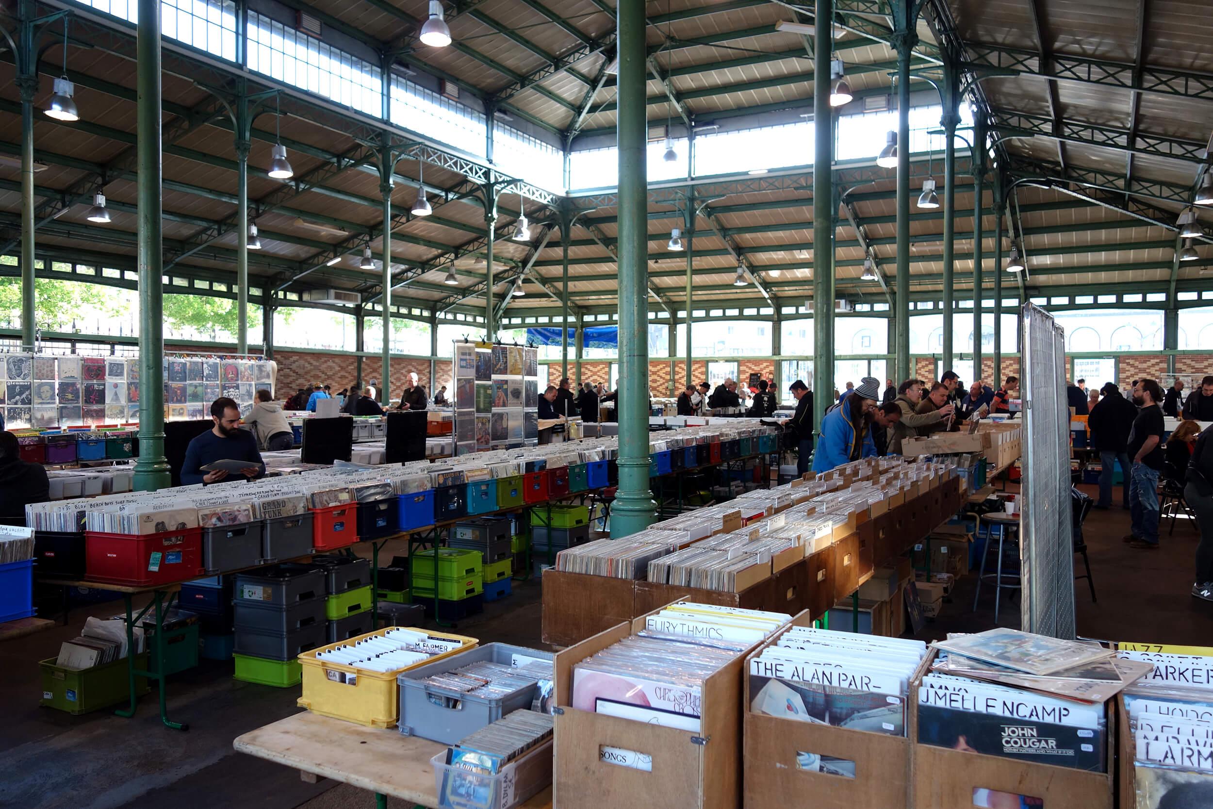 Foire aux disques de Rennes
