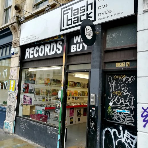 Flashback Records Shoreditch