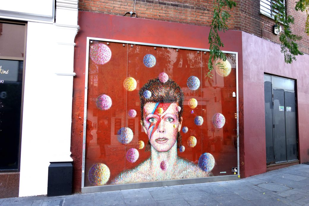 David Bowie, Brixton