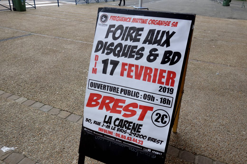 Foire aux disques de Brest