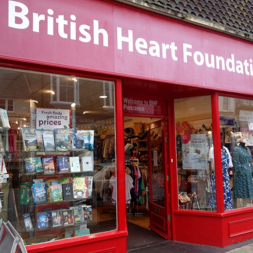 British Heart Foundation, Penzance