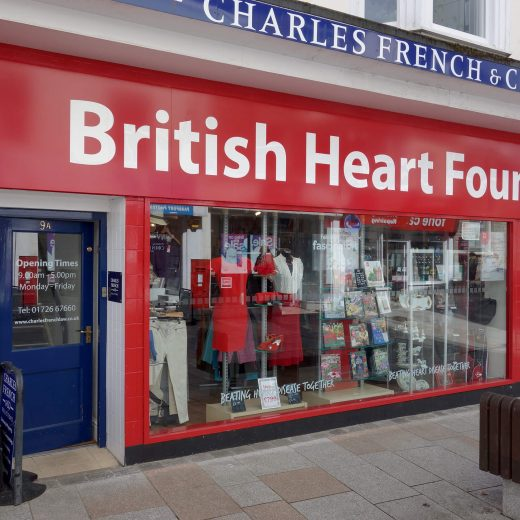 British Heart Foundation, St Austell
