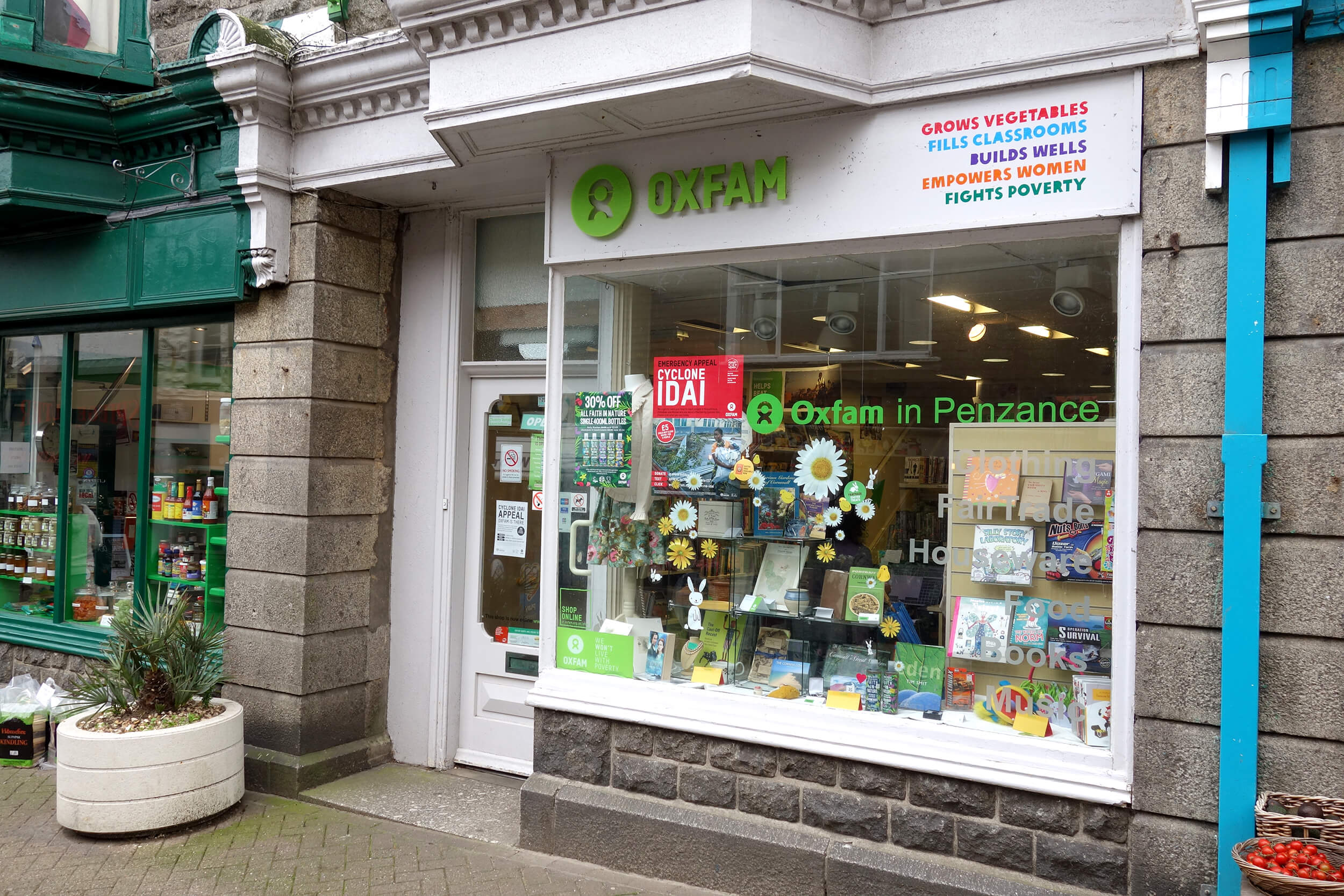 Oxfam, Penzance