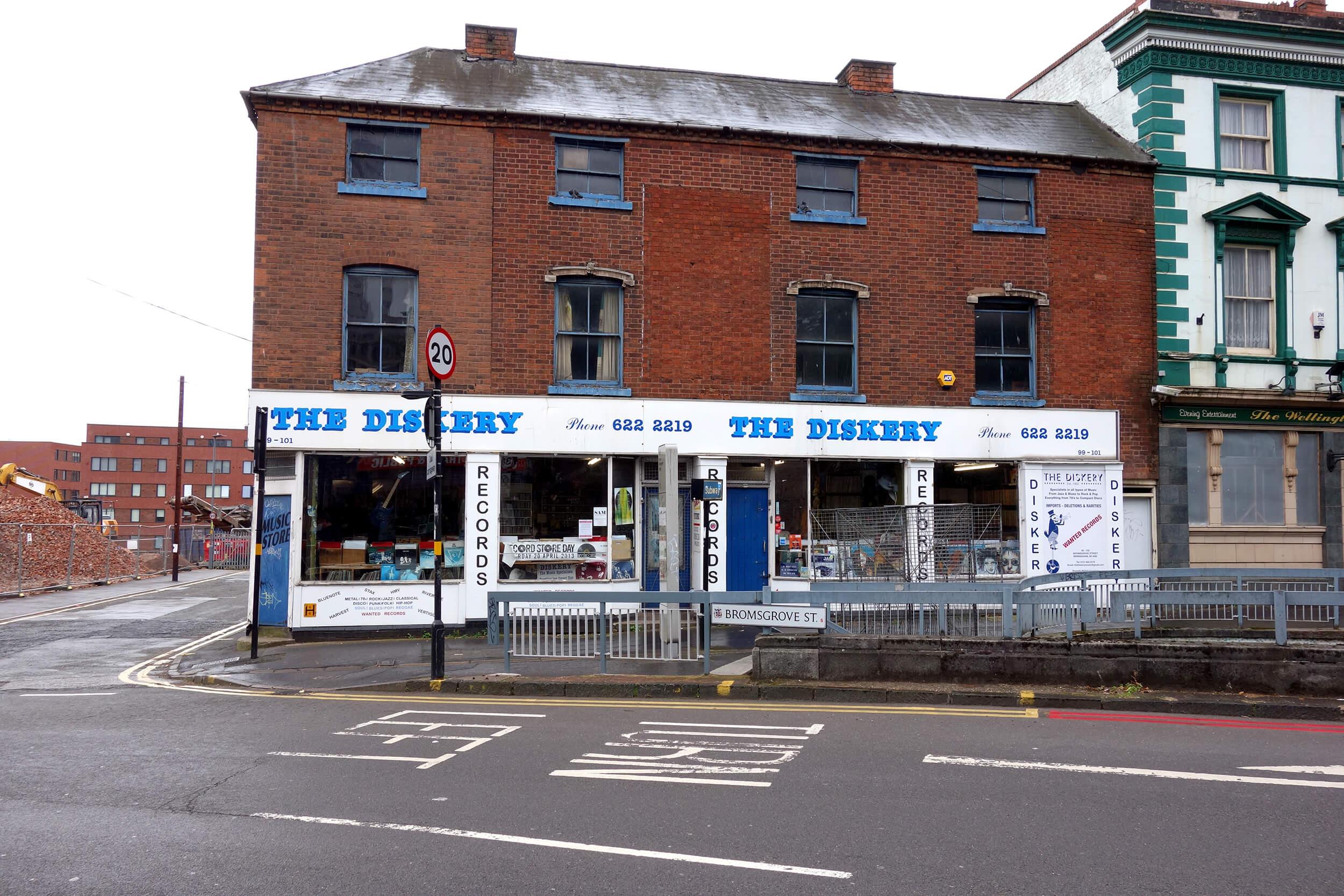 The Diskery à Birmingham