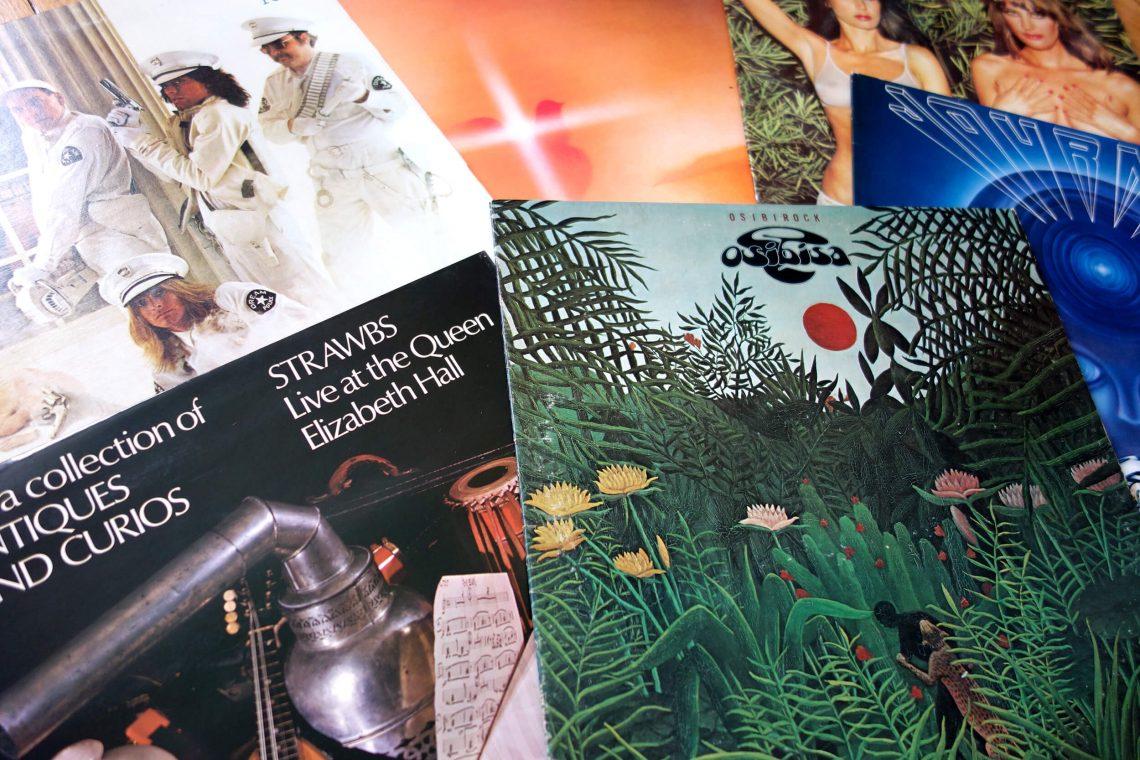 Les trouvailles chez Ben's Collectors Records