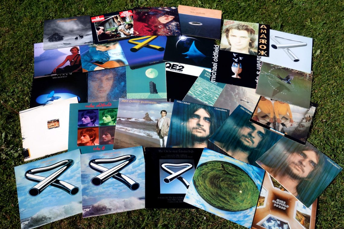 Ma collection Mike Oldfield